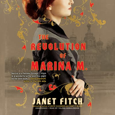 The Revolution of Marina M. by Janet Fitch audiobook