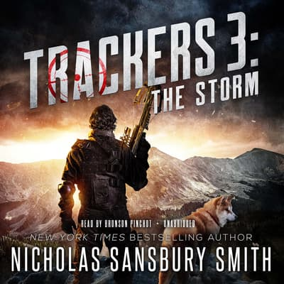 Trackers 3: The Storm by Nicholas Sansbury Smith audiobook