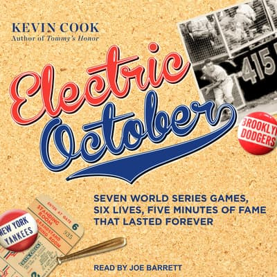 Electric October by Kevin Cook audiobook