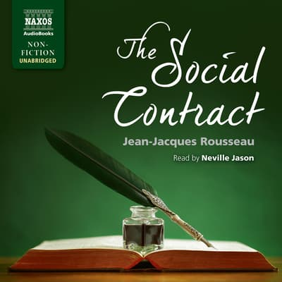 The Social Contract by Jean-Jacques Rousseau audiobook