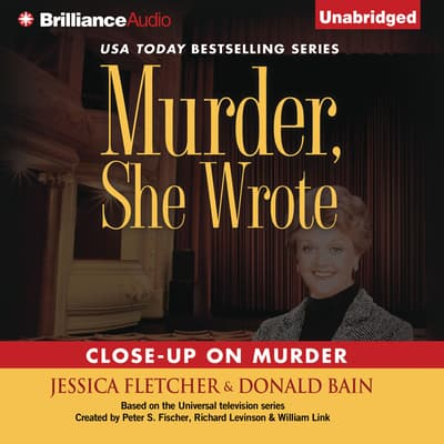 Close-Up on Murder by Jessica Fletcher audiobook