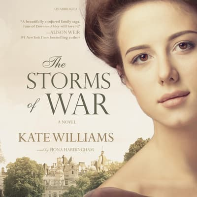 The Storms of War by Kate Williams audiobook