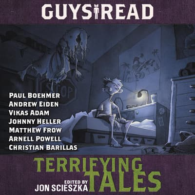 Guys Read: Terrifying Tales by Jon Scieszka audiobook