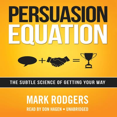 Persuasion Equation by Mark Rodgers audiobook