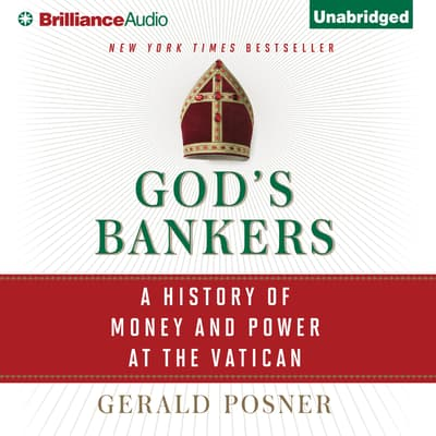 God's Bankers by Gerald Posner audiobook