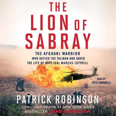 The Lion of Sabray by Patrick Robinson audiobook