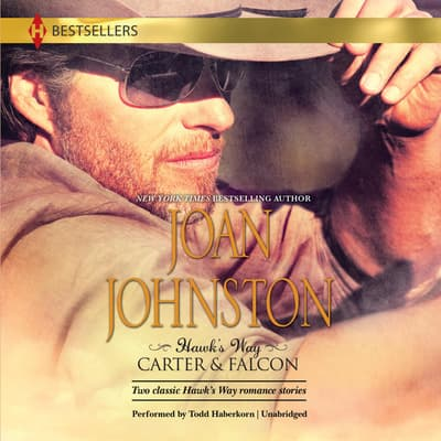 Hawk's Way: Carter & Falcon by Joan Johnston audiobook