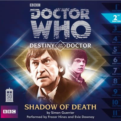 Doctor Who: Shadow of Death by Simon Guerrier audiobook
