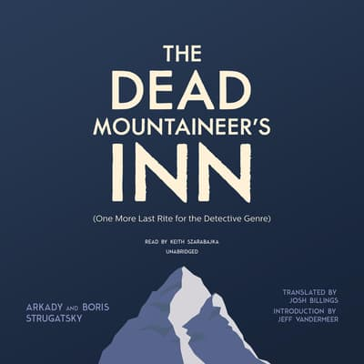 The Dead Mountaineer's Inn by Arkady Strugatsky audiobook