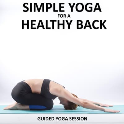 Simple Yoga for a Healthy Back by Sue Fuller audiobook