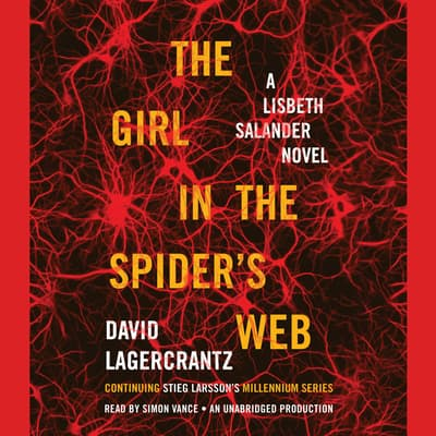 The Girl in the Spider's Web by David Lagercrantz audiobook