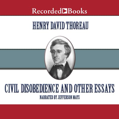 Civil Disobedience by Henry David Thoreau audiobook