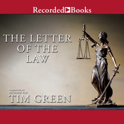 The Letter of the Law by Tim Green audiobook