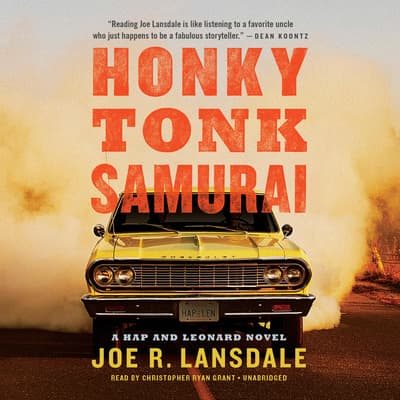 Honky Tonk Samurai by Joe R. Lansdale audiobook