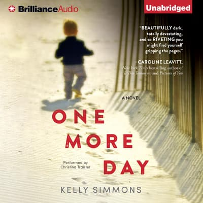 One More Day by Kelly Simmons audiobook
