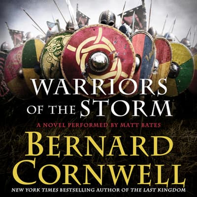 Warriors of the Storm by Bernard Cornwell audiobook