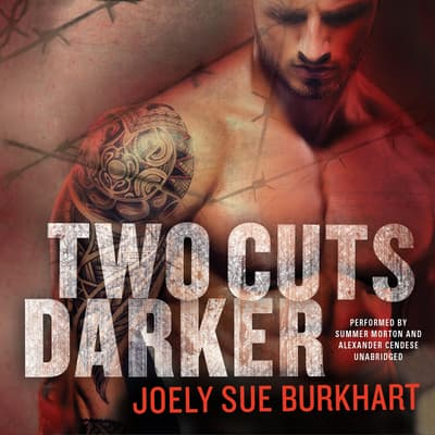 Two Cuts Darker by Joely Sue Burkhart audiobook