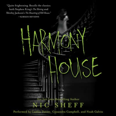 Harmony House by Nic Sheff audiobook
