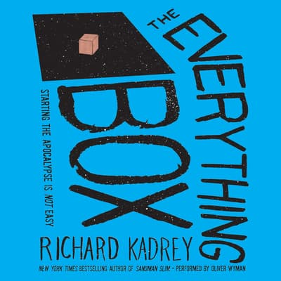 The Everything Box by Richard Kadrey audiobook