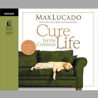 Cure for the Common Life by Max Lucado audiobook
