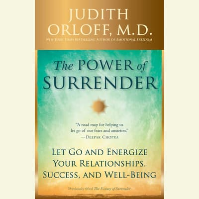 The Power of Surrender by Judith Orloff audiobook