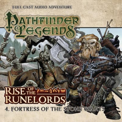 Rise of the Runelords 1.4 Fortress of the Stone Giants by Cavan Scott audiobook