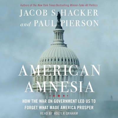 American Amnesia by Jacob S. Hacker audiobook