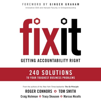 Fix It by Roger Connors audiobook