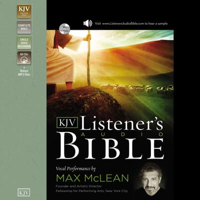The Listener's Audio Bible - King James Version, KJV: Old Testament by Thomas Nelson Publishers  audiobook