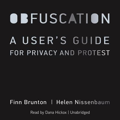 Obfuscation by Finn Brunton audiobook
