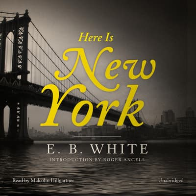 Here Is New York by E. B. White audiobook
