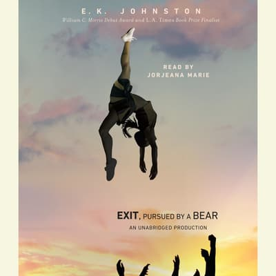 Exit, Pursued by a Bear by E. K. Johnston audiobook