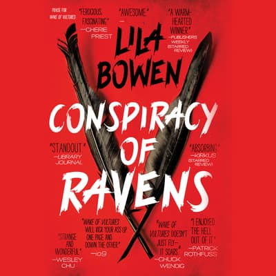 Conspiracy of Ravens by Lila Bowen audiobook