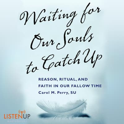 Waiting for our Souls to Catch Up by Carol M. Perry audiobook