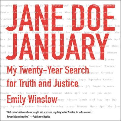 Jane Doe January by Emily Winslow audiobook