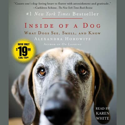 Inside of a Dog by Alexandra Horowitz audiobook
