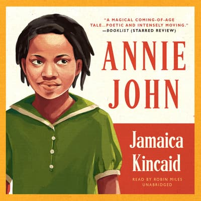 Annie John by Jamaica Kincaid audiobook