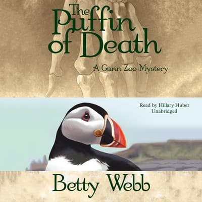 The Puffin of Death by Betty Webb audiobook