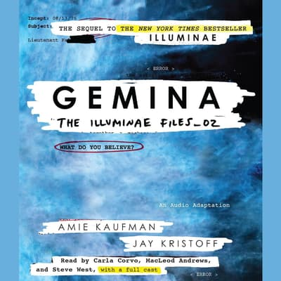 Gemina by Amie Kaufman audiobook