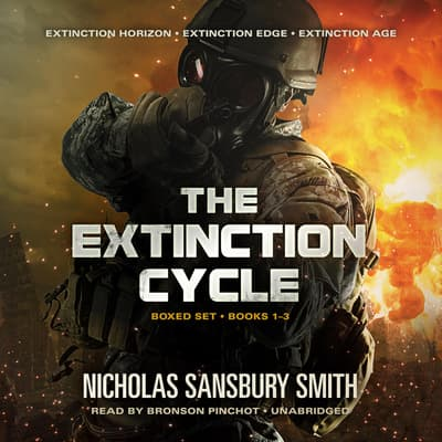 The Extinction Cycle Boxed Set, Books 1–3 by Nicholas Sansbury Smith audiobook