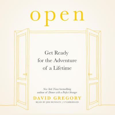 Open by David Gregory audiobook