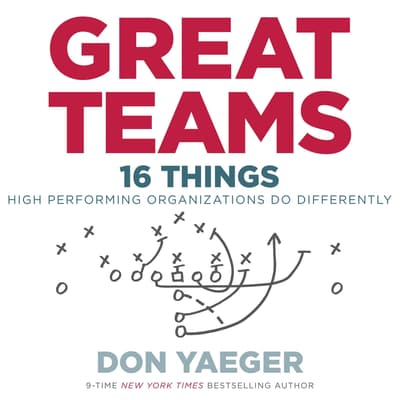 Great Teams by Don Yaeger audiobook