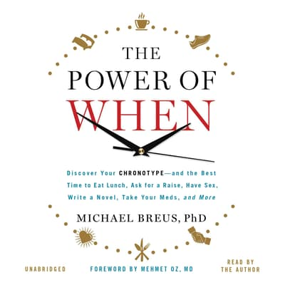 The Power of When by Michael Breus audiobook