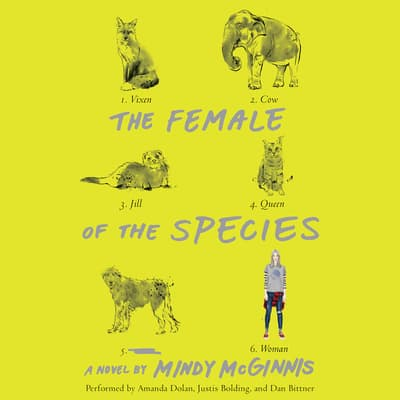 The Female of the Species by Mindy McGinnis audiobook