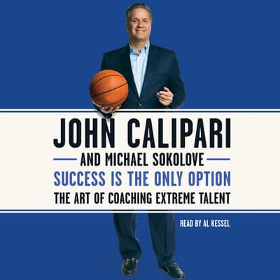 Success Is the Only Option by John Calipari audiobook