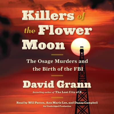 Killers of the Flower Moon by David Grann audiobook