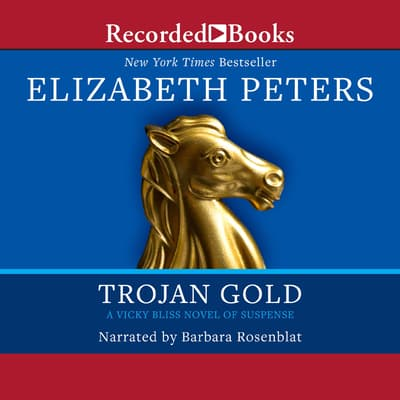 Trojan Gold by Elizabeth Peters audiobook
