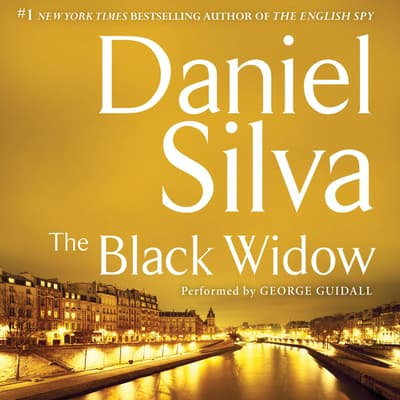 The Black Widow by Daniel Silva audiobook
