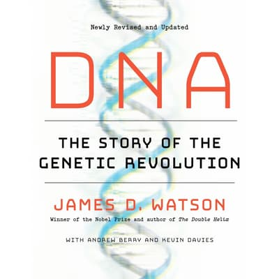 DNA by James D. Watson audiobook