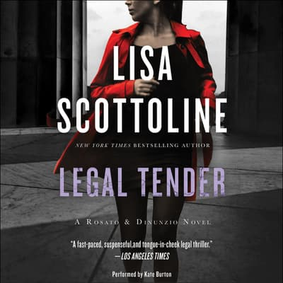 Legal Tender by Lisa Scottoline audiobook